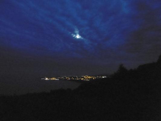 Ausblick bei Nacht