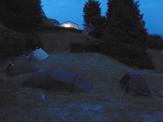 Campingplatzleben