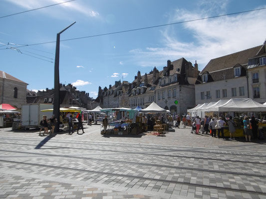 Markt in Besancon