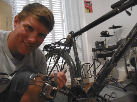 Fahrrad zerlegen