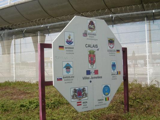 Ankunft in Calais