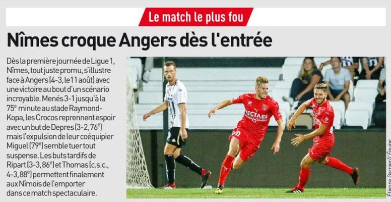 20eme journée de Ligue 1 Conforama : NO-SCO ANGERS Image