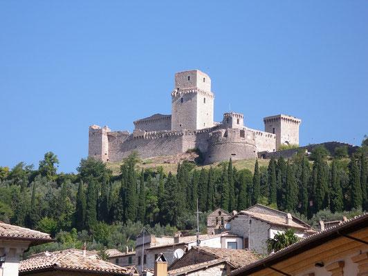 Stadtansicht von Assisi