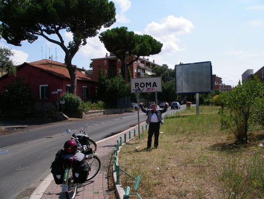 endlich Rom