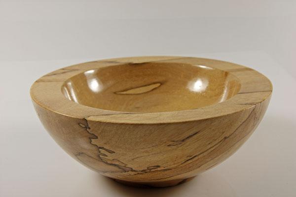 """Schale """"Touch me"""" - Birke / h = 7,5 cm / Ǿ = 18,5 cm  / Oberfläche:  Washin-Urushi / Preis: 500,00 €"""