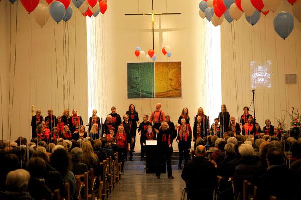 Konzert zum 15. jährigen Jubiläum, Anna Katharina Kirche, Coesfeld 2017