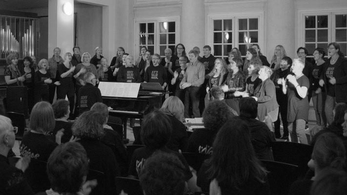 Konzert Gospelkirchentag Karlsruhe 2018