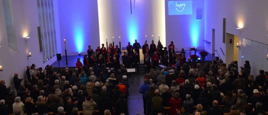 Konzert in der Anna Katharina Kirche, Januar 2016