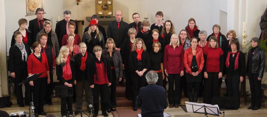 Konzert in der St. Josephs-Kirche in Stevede 2011