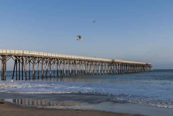 San Simeon Pier, California, USA