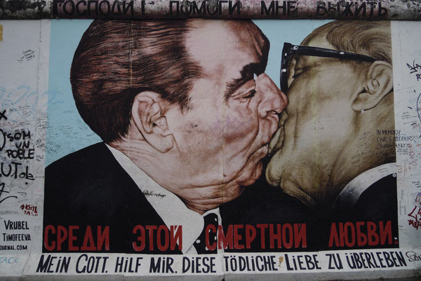 Graffiti, Berlin Wall, Germany