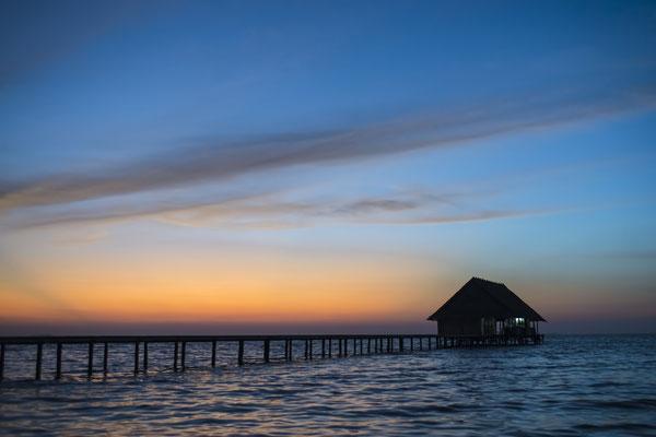Sunset Pulau Pef, Raja Ampat, Indonesia
