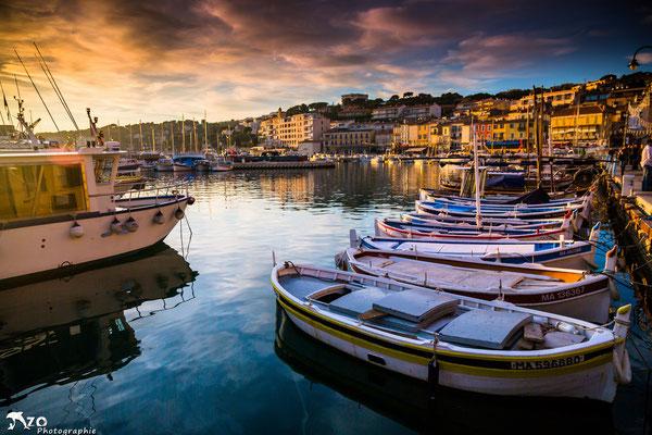 Port de Cassis, village de pécheur près de Marseille