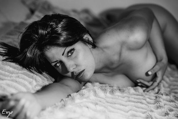 Photo portrait nu boudoir aix en provence