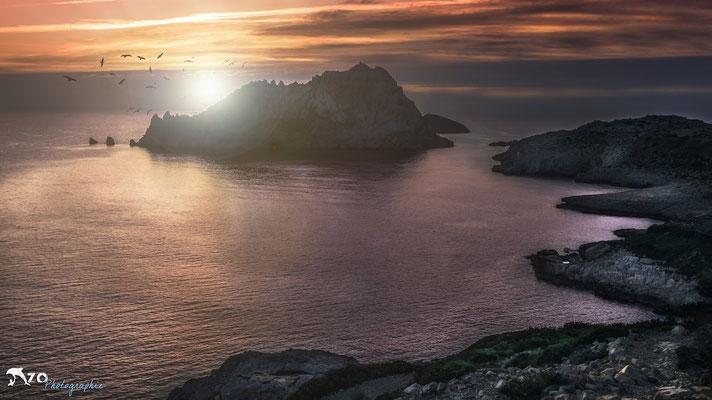 L'ile Maîre - Calanque Callelongue - Enzo Photographie