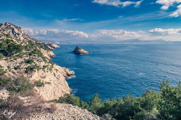 Marseille - Calanque - Ile de l'éverine - chemin des douaniers - 037