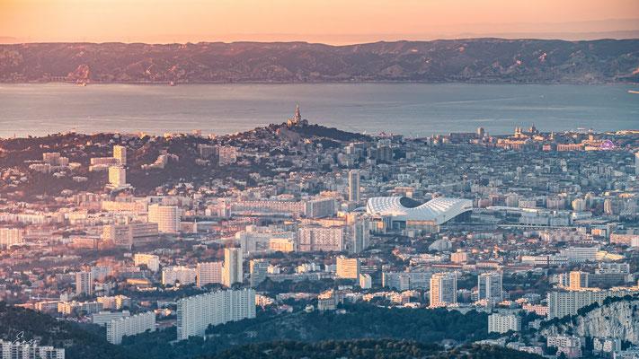 Marseille - Notre dame de la garde au coucher du soleil - Luminy - 049