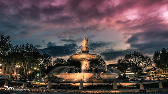 Aix en provence - Rotonde - 004