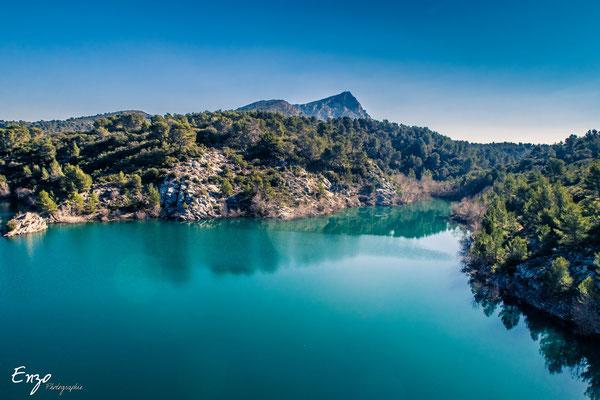 Aix en provence - Sainte Victoire - Lac de bimont - 025