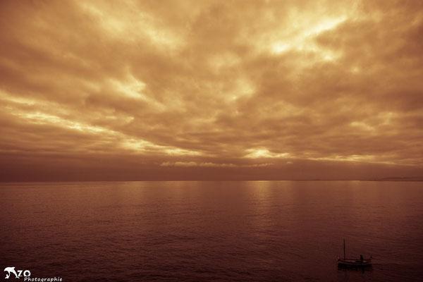 La mer et son immensité, un soir d'été depuis le Cap de Nice