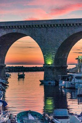 Marseille - Marseille - Vallon des Auffes au coucher du soleil - 068