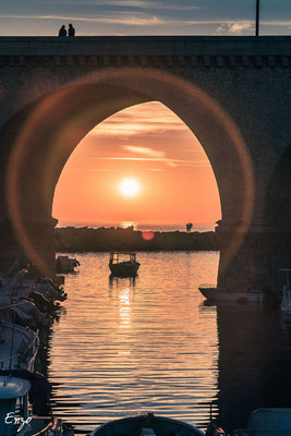 Marseille - Marseille - Vallon des Auffes au coucher du soleil - 066