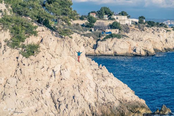 Calanque du jonquier - Ensues la redonne - Ballade Randonnée  - sentier des douaniers - Niolon - Côte bleue