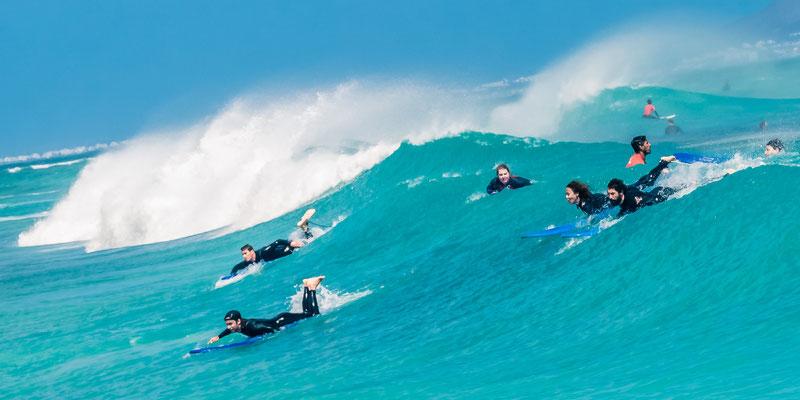 Ecole de surf à Corralejo