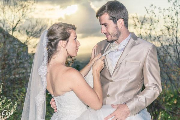 Jeunes mariés qui se désirent