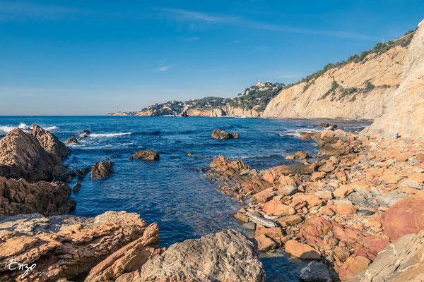 Sentier des douaniers cote bleue Ensues la redonne Niolon Martigues