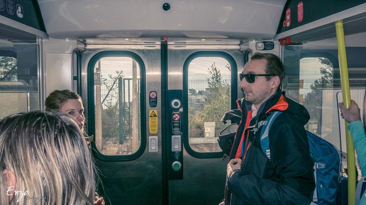Train de la cote bleue - Ballade Randonnée  - sentier des douaniers - Niolon - Côte bleue