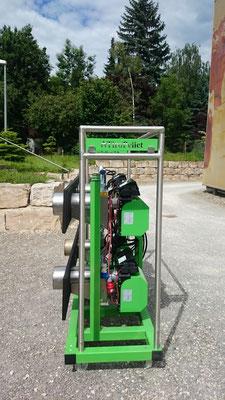 mobile Brenner für Backöfen