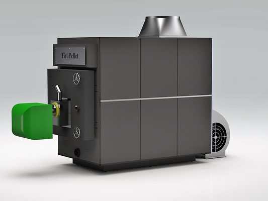 Pellet Warmluftgenerator