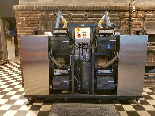 400kW mobiles Holzpelletsystem