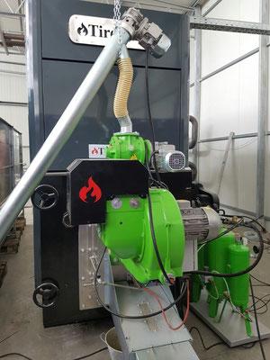 1000 kW mit Zellenradschleuse
