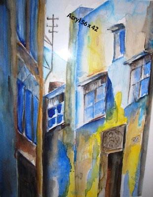 Griechische Impressionen_Aquarell