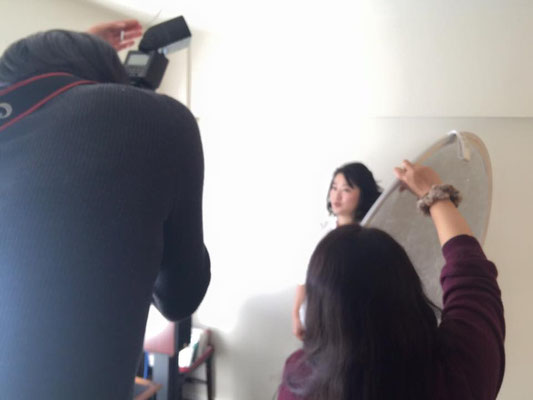 この日は急遽、カメラマンのSatokoさんも手伝ってくださって