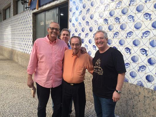 Jorginho、Jorge filho、Celsinho Silva 父と兄弟が揃いました!みんな変わらず元気で安心しました...!