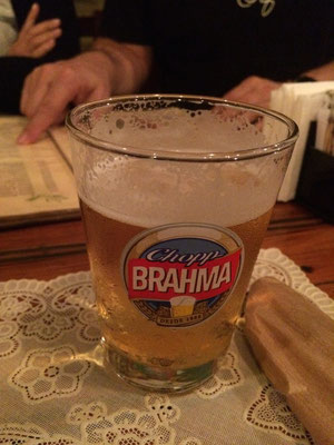 ブラジルビールを堪能しました^^