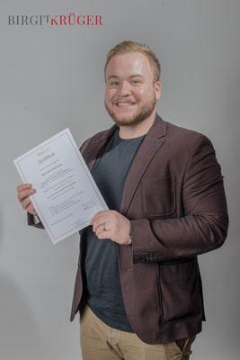 Maximilian Diecks, Scrum Master, seit 12 2018 Coach für den WERTEkoffer von Birgit Krüger
