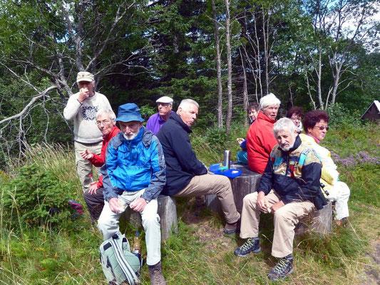 Picknick bei der Zastler Hütte