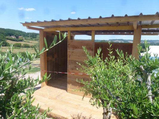 Construction de nouvelles toilettes sèches