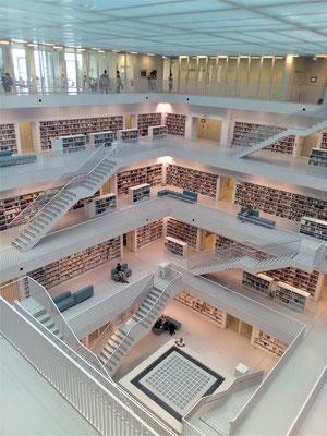 Bibliothek Lesegalerien