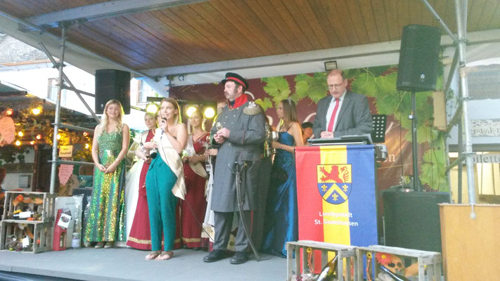 Repräsentanten bei der Eröffnung mit Heinz-Peter Mertens 2016