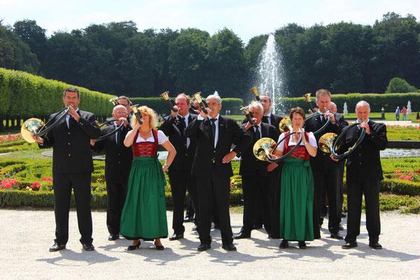 Im Park von Schloss Augustusburg