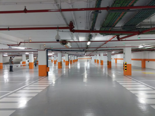 Tratamientos para parkings - Pavimentos Refesureste