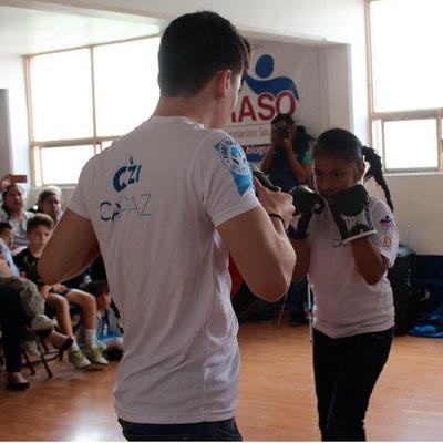 El programa CAPAZ (Campeones de la Paz), es ejemplo de deporte social en la CDMX