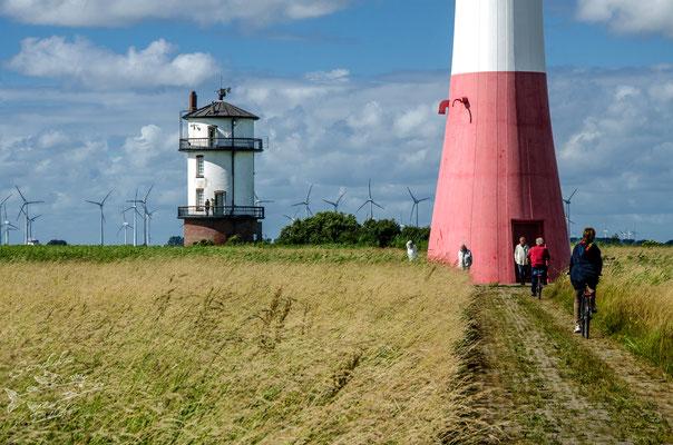 Der Weg zum alten Baljer Leuchtturm