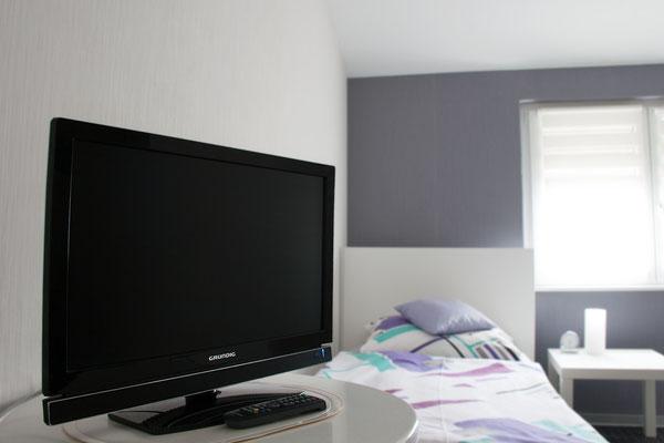 In allen Zimmern stehen TV-Geräte