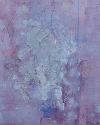 Errungenschaft I 80 x 100 cm I eingefasst in Schattenfugenrahmen aus Holz weißfarben